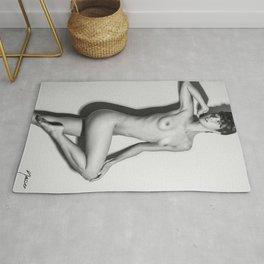 5760 Natasha Au Naturel - Boudoir Eros Studio Beauty Nude Rug