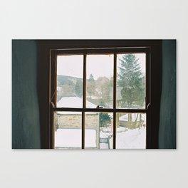 Blacksmiths Shop Window Canvas Print