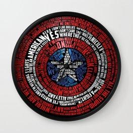 Who is Steve Rogers? Wall Clock