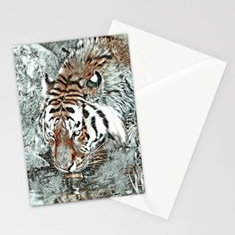 NewArt Animal Tiger 2 Stationery Cards