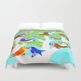 Alice Birds Duvet Cover