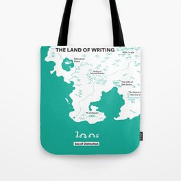 The Land of Writing Tote Bag
