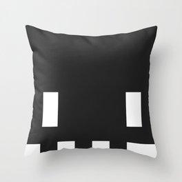 SkullTee Throw Pillow