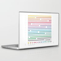 calendar Laptop & iPad Skins featuring Calendar 2014 by neuprouns