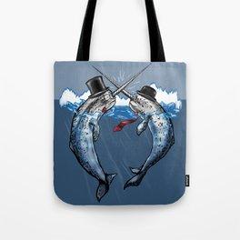 Gentlemen's Duel Tote Bag