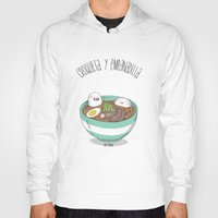 ramen Hoodies featuring Ramen by AnaOncina