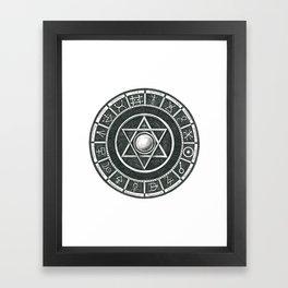 Alchemist's Seal Framed Art Print