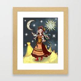 Slavic Rhapsody Framed Art Print