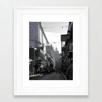 new orleans Framed Art Prints featuring New Orleans  by DeniseValencia