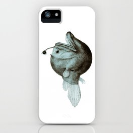Anglerfish Diceratias bispinosus iPhone Case