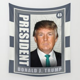 President Donald J. Trump Wall Tapestry