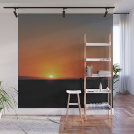 California Sunset Wall Mural