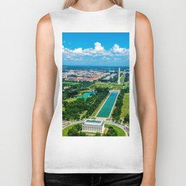 DC from Above Biker Tank