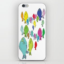 FISHpaint iPhone Skin