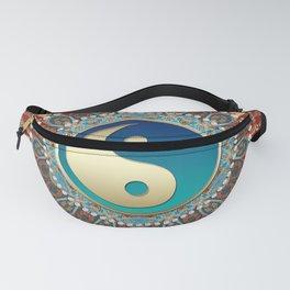 Bohemian Batik Yin Yang Fanny Pack