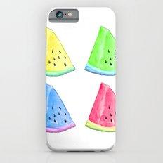 Watermelon Color Mix Slim Case iPhone 6s
