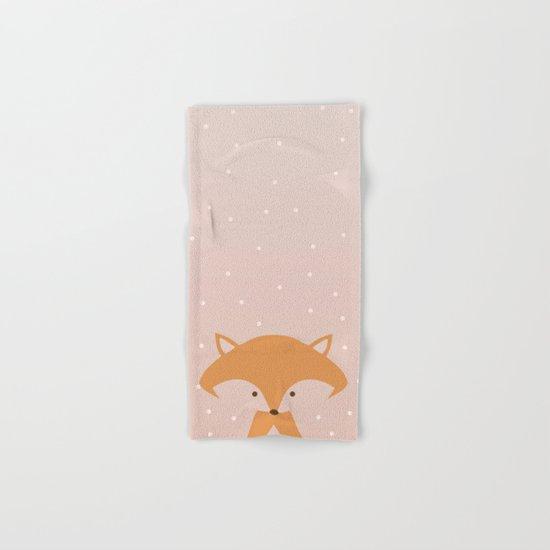 Nursery FOX Hand & Bath Towel