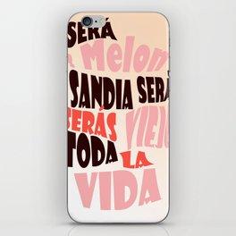 SERA MELON  iPhone Skin