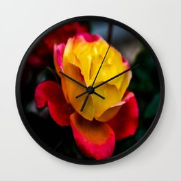 Rainbow Of Color Wall Clock