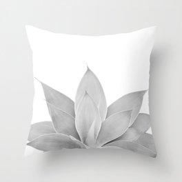 Gray Agave #1 #tropical #decor #art #society6 Throw Pillow