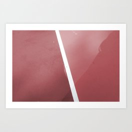 Pink Hard Series #1 Art Print