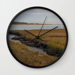 Herring Run - Westport, MA Wall Clock