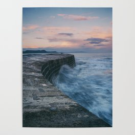 Sunset Over the Cobb II Poster