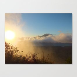 Sunrise at Mt. Batur Canvas Print