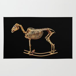 Rocking horse skeleton Rug