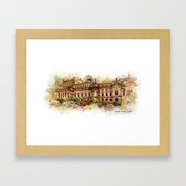 Slowacki Theatre, Cracow Framed Art Print