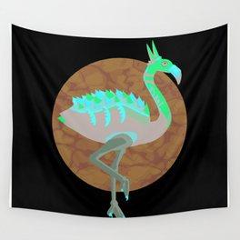 Dino-Flamingo Wall Tapestry
