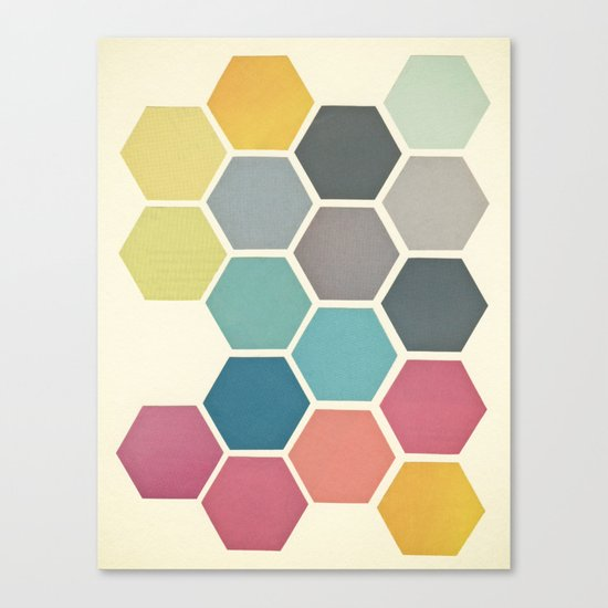 Honeycomb II Canvas Print