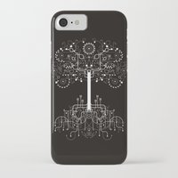 gondor iPhone & iPod Cases featuring The White Tree by Danny Schlitz