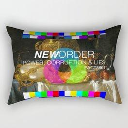 Power, Corruption & Lies Rectangular Pillow