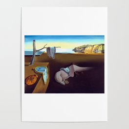 Salvador Dali The Persistence of Memory 1931 Artwork, Wall Art, Prints, Posters, Tshirts, Men, Women Poster