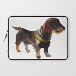 watercolor dog vol 10 dachshund Laptop Sleeve