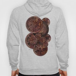 The Man in the Machine - A Steampunk Fantasy Hoody