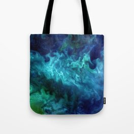The Art of Nature - Churning in the Chukchi Sea Tote Bag