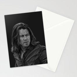 Eliot Spencer Greyscale Stationery Cards