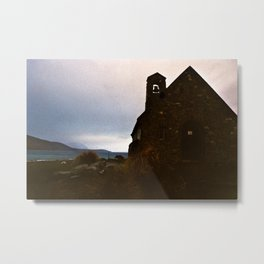 Lake Tekapo: Church of the Good Shepherd Metal Print