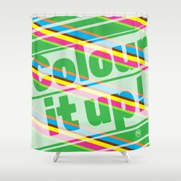 Colour it up! Shower Curtain