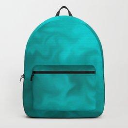 Teal Fuzz Backpack