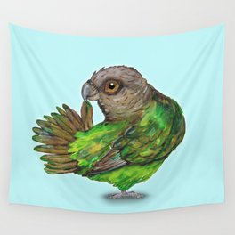 Brown-headed Parrot Wall Tapestry