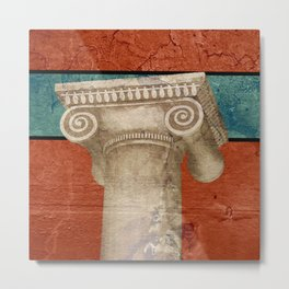 Pillar of Rome Metal Print