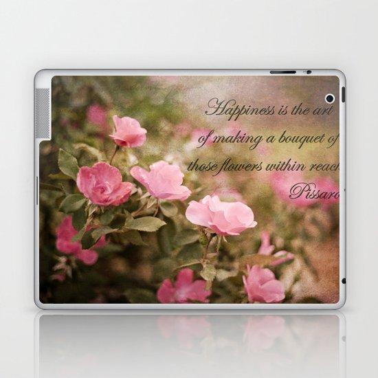 Happiness Quote Laptop & iPad Skin