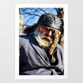 Dupont Man  Art Print