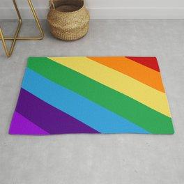 Rainbow flag Rug