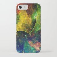 blanket iPhone & iPod Cases featuring Blanket of Stars 2 by Klara Acel