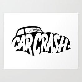 CarCrash Logo Art Print