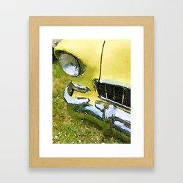 Big Yellow Belair- Photowatercolor Framed Art Print